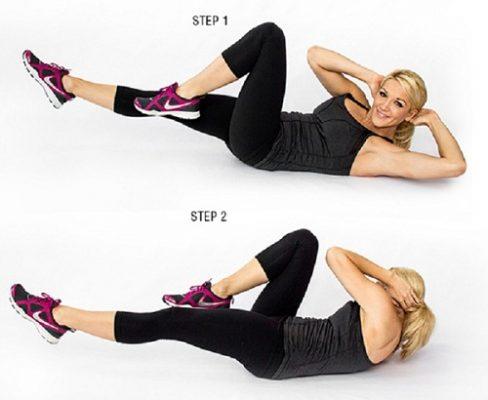 Bài tập giảm mỡ bụng tổng hợp hiệu quả