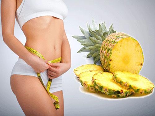 Dứa có tác dụng giảm cân, bạn đã thử chưa ?